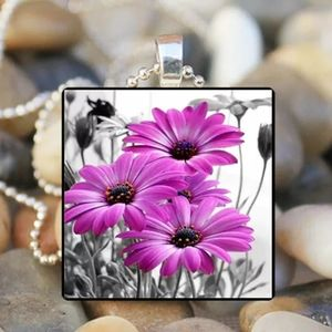 SALE 3 for $20!  Flowers Necklace
